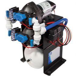 Jabsco Watersysteem met Dubbele Pomp - 12V