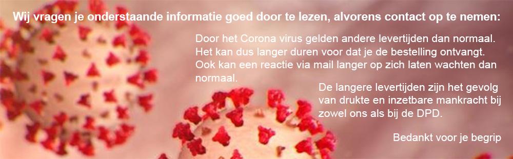 levertijd corona virus