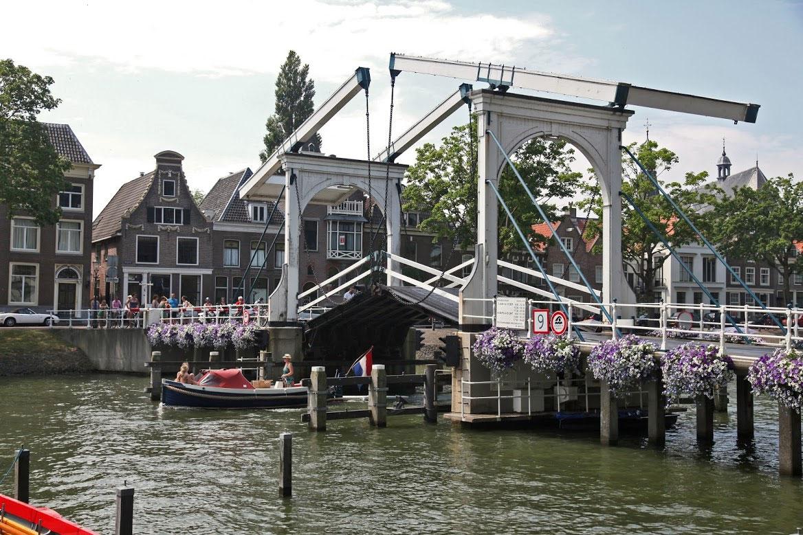 Hoogstraatbrug over de Vecht Weesp - André Verheul