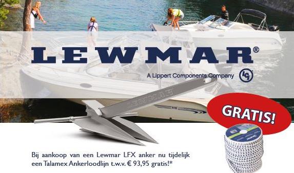 Lewmar LFX Anker Actie